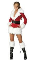 Sexy Santa Coat
