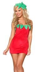Sexy Strawberry Costume