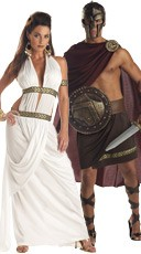 Spartan Couples Costume