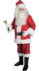 Plus Size Super Deluxe Santa Suit