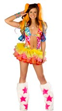 Rainbow Star Romper and Tutu Set
