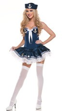 Navy Paris Sailor Costume