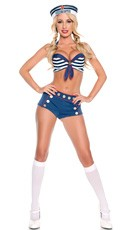 Sexy Sailor Sweetie Costume