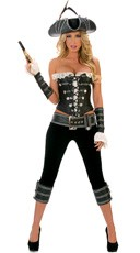Deluxe Rogue Pirate With Pants Costume