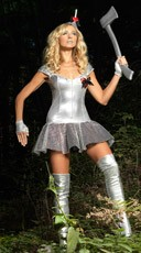 Tempting Tin Maiden Costume