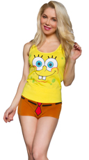 Spongebob Tank and Boyshort Set
