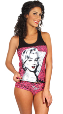 Marilyn Monroe Cami and Panty Set