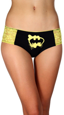 Plus Size DC Comics Batman Lace Panty 3 Pack