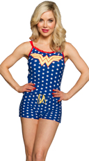 Wonder Woman Cami and Shorts Set