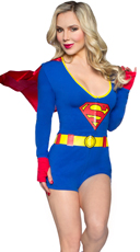 DC Comics Superman Romper with Cape