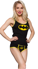 Batman Ribbed Tank and Panty Set