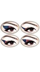 American Flag Glitteratti Eye Kit