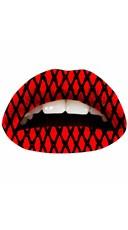 The Red Fishnet Lip Kit