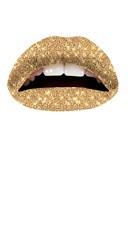Gold Glitteratti Lip Kit