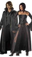 Vampire Baron and Baroness Couples Costume
