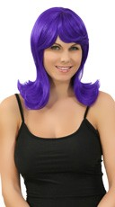 Purple Peggy Sue Wig