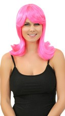 Hot Pink Peggy Sue Wig