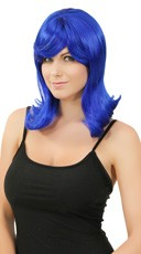 Dark Blue Peggy Sue Wig