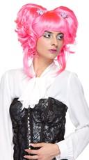 Neon Pink Yuki Wig