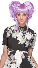 Lavender Yuki Updo Wig