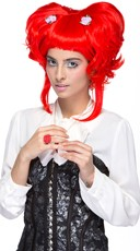 Firecracker Red Yuki Updo Wig