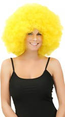 Yellow Jumbo Clown Wig