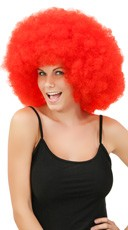 Red Jumbo Clown Wig