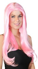 Long Cherry Blossom Pink Wig