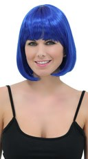Royal Blue Bob Wig