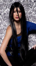 Onyx Extra Long Straight Wig