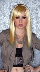 Apricot Blonde Straight Wig