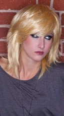 Apricot Blonde Rocker Layers Wig