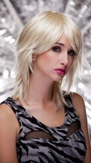 California Blonde Rocker Layers Wig