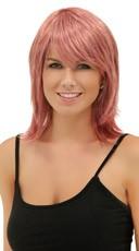 Light Pink Rocker Layers Wig