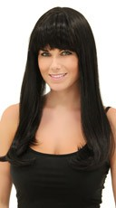Deep Black Sweetheart Wig