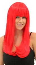 Ruby Red Sweetheart Wig