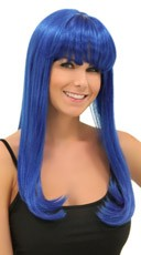 Royal Blue Sweetheart Wig