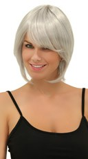 Chrome Short Bob Wig