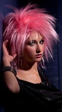 Pink Haze Punk Wig