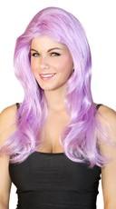 Layered Violet Wig