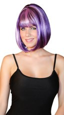 Deluxe Bobbed Grapevine Wig