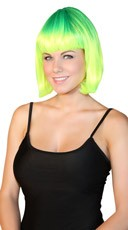 Deluxe Neon Lemondrop Wig