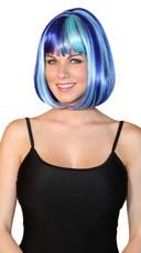 Deluxe Bobbed Blue Ocean Wig