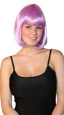 Deluxe Bobbed Violet Wig
