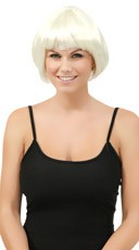 Short Bobbed Moonglow Wig