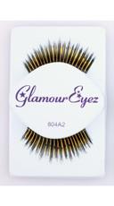 Black and Gold Varied Length False Eyelashes