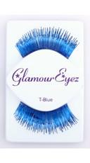 Metallic Blue Eyelashes