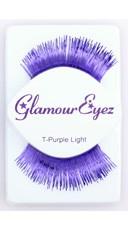 Metallic Purple Eyelashes