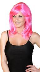 Hot Pink Fantasy Wig