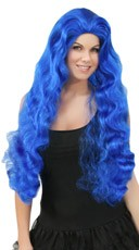Wavy Dark Blue Wig